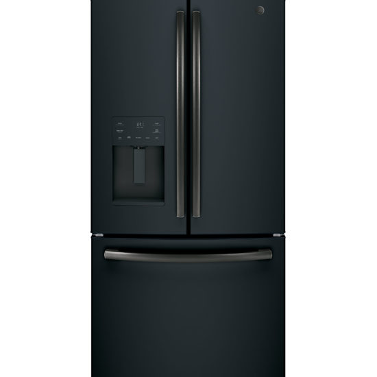 GE 36-Inch Black Slate 25.6 Cu. Ft. French-Door Refrigerator | Four Brothers Appliances